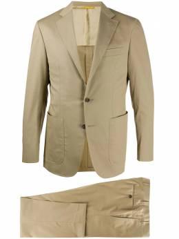 Canali костюм с однобортным пиджаком AV010002527553