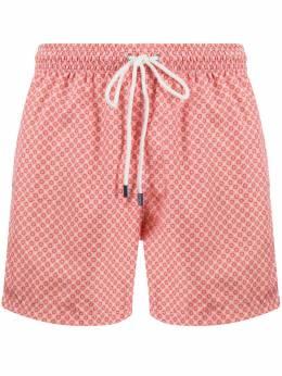 Fedeli плавки-шорты с геометричным принтом 3UE00318B8492