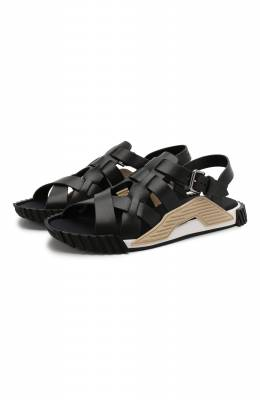 Кожаные сандалии NS1 Dolce&Gabbana CS1795/AX656