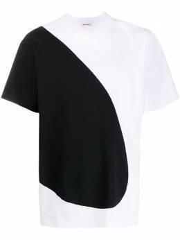 Marni футболка в двух тонах HUMU0164Q0S22763