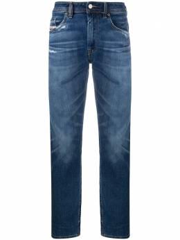 Diesel джинсы прямого кроя с эффектом потертости 00SB6D009DE