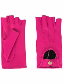 Manokhi перчатки Mano AW20MANO134A3SHORTGLOVESFLUOPINKFARADEGETE