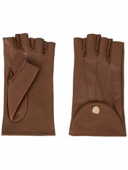 Manokhi перчатки Mano AW20MANO161SHORTGLOVESBROWNCUBUZUNAR