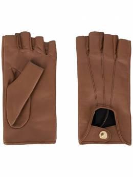 Manokhi перчатки Mano AW20MANO134A3SHORTGLOVESBROWNFARADEGETE