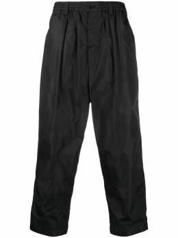 Marni укороченные брюки широкого кроя PUMU0017A0S52126