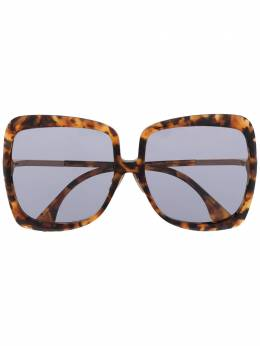Fendi Eyewear солнцезащитные очки в массивной оправе черепаховой расцветки FF0429S