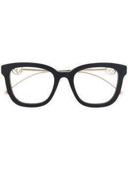 Fendi Eyewear очки с металлическим логотипом FF0419