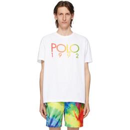 Polo Ralph Lauren White Logo T-Shirt 710800460002