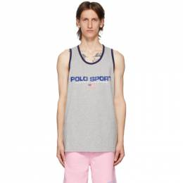 Polo Ralph Lauren Grey Polo Sport Tank Top 710800909003