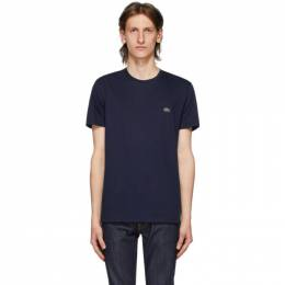 Lacoste Navy Pima Cotton T-Shirt TH6709-52