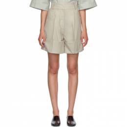 Low Classic Beige Cuffed Shorts LOW20SS_PT17LB