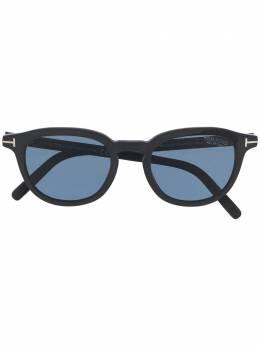 Tom Ford Eyewear солнцезащитные очки в круглой оправе FT0816