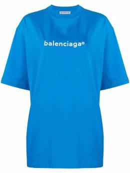 Balenciaga футболка свободного кроя 620941TIV54