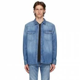 Nudie Jeans Blue Denim George Shirt 140660