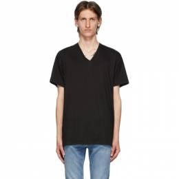 Calvin Klein Underwear Three-Pack Black V-Neck Classic-Fit T-Shirt NB4012G