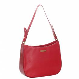 Burberry Red Leather Shoulder Bag 296735