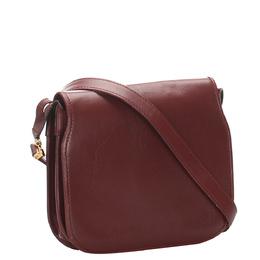 Cartier Red Leather Must de Cartier Crossbody Bag 296732