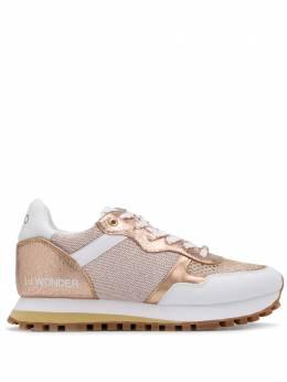 Liu Jo кроссовки со вставками металлик BXX063TX102