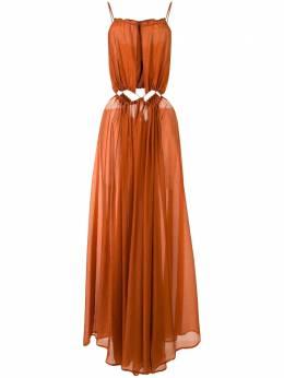 Cult Gaia платье Thera с вырезами 50150K08