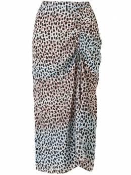 Suboo юбка Amelie с анималистичным принтом SB1690SS20