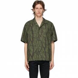 John Elliott Green Camp Shirt E050N10557A