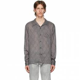 John Elliott Grey Seville Shirt E051N0910A