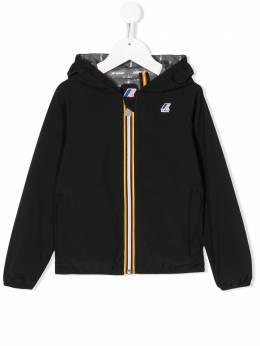 K Way Kids куртка с капюшоном и логотипом K00BDK0
