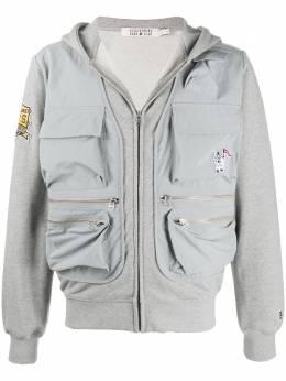 Billionaire Boys Club куртка на молнии с накладными карманами B20118B