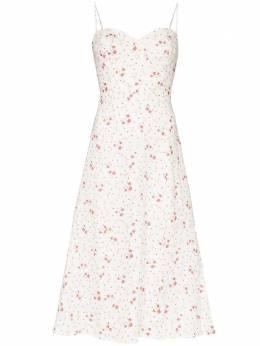 Reformation платье миди Nebraska с цветочным принтом 1304239VER