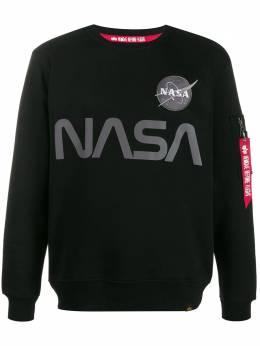 Alpha Industries толстовка с принтом NASA 178309B