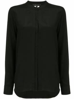 BCBGMaxAzria блузка без воротника с длинными рукавами RXI1T336
