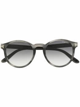 Tom Ford Eyewear солнцезащитные очки в круглой оправе FT0591