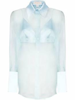Materiel прозрачная рубашка из органзы PF20ALM1025SRLBL