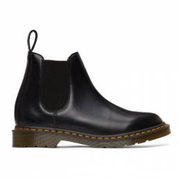 Comme Des Garcons Comme Des Garcons Black Dr. Martens Edition Made In England Chelsea Boots CSH12