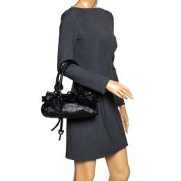 Chloe Black Leather Mini Paddington Bag 297037