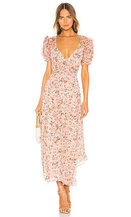 Макси платье clemence - Loveshackfancy LD760-569