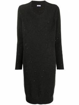 Brunello Cucinelli трикотажное платье-джемпер M73548A92C2803