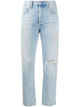 Citizens Of Humanity укороченные джинсы Mackenzie средней посадки 18018991G