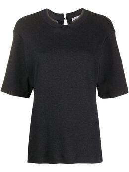 Brunello Cucinelli футболка с декором Monili M0TC8BI400C055