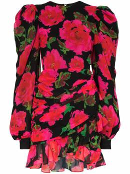 Richard Quinn платье мини с принтом RQSS2030