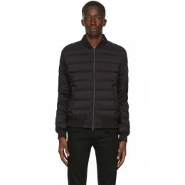 Herno Black Down LAviatore Bomber Jacket PI010ULE 19288