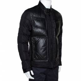 Moncler Black Down Quilted Allemand Jacket XL 297845