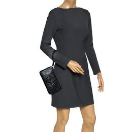 Gucci Black Leather Soho Wristlet Clutch 297683