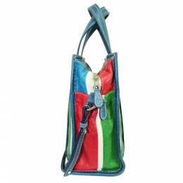 Balenciaga Multicolor Leather Bazaar Shopper S Bag 286546