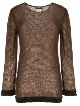 Chanel Pre-Owned блузка рыхлой вязки 98AP11482W02447B1131