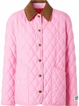 Burberry стеганая куртка 8031150