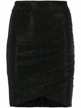 Philipp Plein декорированная юбка мини P20CWRV0265PTE003N