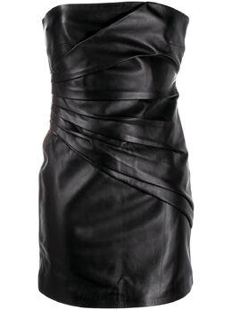 Manokhi платье мини AW20SAHARABLACKMANO260A672
