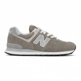 New Balance Grey 574 Core Sneakers ML574EGG