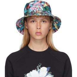 Kenzo Black Vans Edition Floral Bucket Hat FA55AC303VA1.99